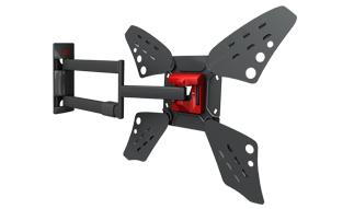 מתקן תליה לטלוויזיה זרועות ברקן 3400L שחור