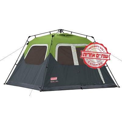 אוהל ל-6 אנשים Coleman Instant tent 6