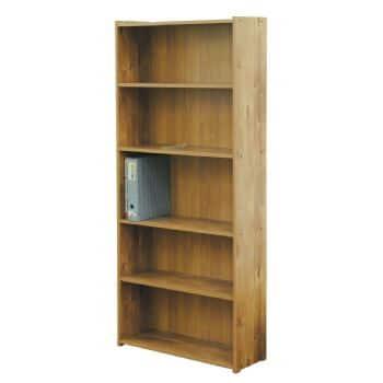 ספריה 5 מדפים דגם 611 רהיטי יראון - צבע שיטה