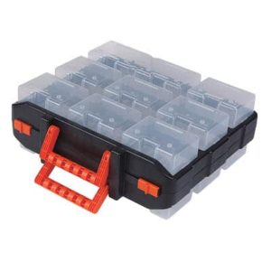 ארגונית פלסטיק 16 תאים דו צדדי TACTIX דגם 320602