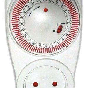 שעון שבת לשקע 2 מצבים OMEGA דגם TIS-01A
