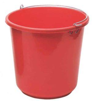 דלי שטיפה 10 ליטר צבעוני