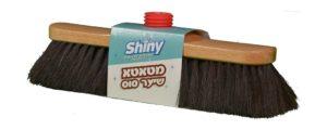 מטאטא שיער סוס אמית+מקל Shiny