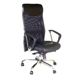 כסא מנהל/ת גבוה עם רשת דגם בר