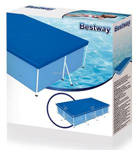 כיסוי לבריכה מלבנית 58107 Bestway