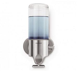 דיספנסר יחיד כיסוי נירוסטה צבע כחול SPLASH