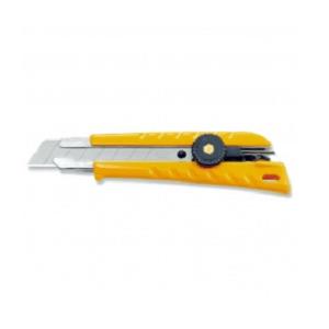 סכין יפני רחב עם נעילת כפתור OLFA