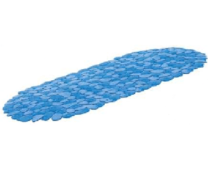 שטיח נגד החלקה ''חלוקי נחל'' כחול SPLAS