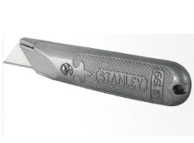 """סכין חיתוך מתכת 18 מ""""מ STANLEY"""