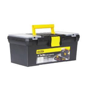 ארגז כלים + אורגנייזר סגר פלסטיק 16001 Stanley