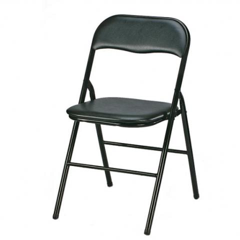 כסא שחור מתקפל- GAL