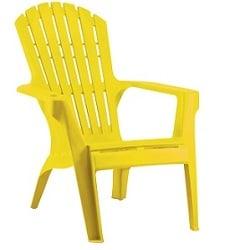 כסא בריזה מהאיים הקריביים צהוב