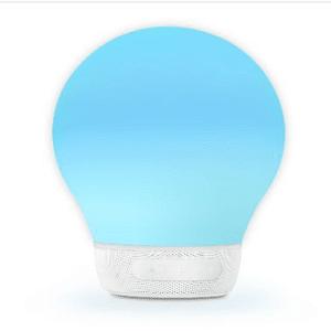 AURABULB – מנורת מוזיקה חכמה DIVOOM צבע לבן