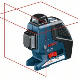 פלס היקפי 2 מעגלים + תושבת + קולט קרן בוש Bosch GLL 280