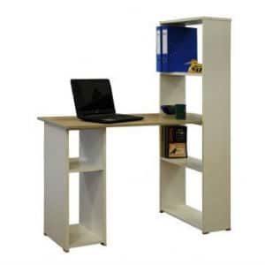 שולחן + ספריה דגם 613 פשתן
