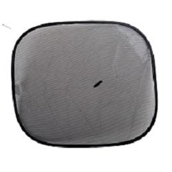 זוג וילונות צד שחור סטטי - WALTER