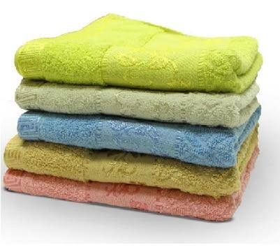 מגבת פנים ג`קארד 50/90 במגוון צבעים