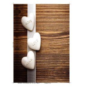 מושב אסלה הידראולי מודפס חלוקי נחל לבבות
