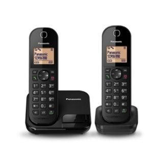 טלפון אלחוטי + שלוחה Panasonic kx-tgc412 שחור