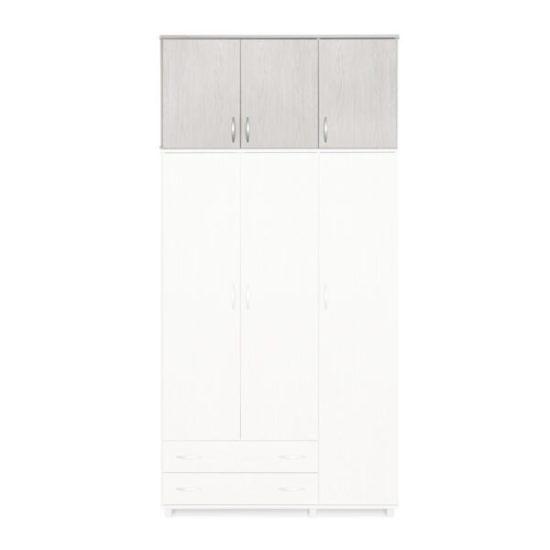 ארון עליון 3 דלתות צבע מייפל מולבן דגם607Eרהיטי יראון