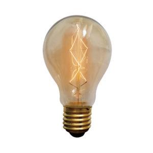 נורת פחם קלאסי 60W E27 תאורת אווירה חמה