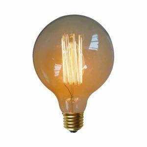 נורת פחם גלוב 60W E27 תאורת אווירה חמה