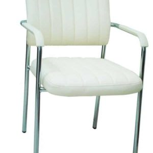 כסא אורח/ת דגם נגה לבן
