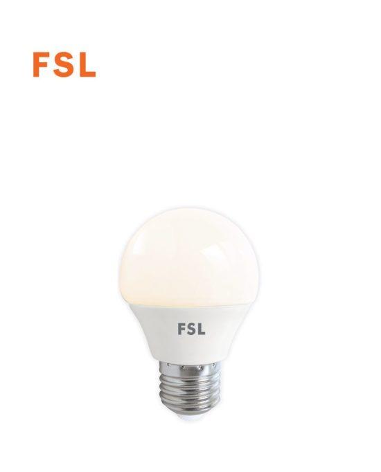 לד כדור 7W G45  לבן אור חם FSL E27