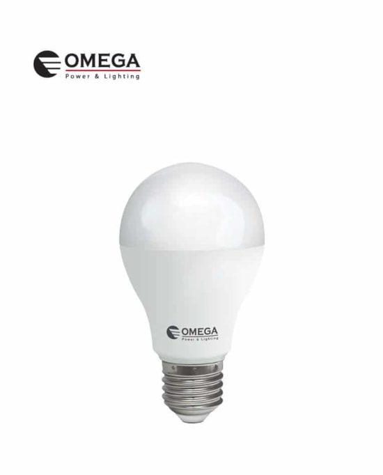 לד 10W  A60 אור יום אריזת קופסה  OMEGA   E27