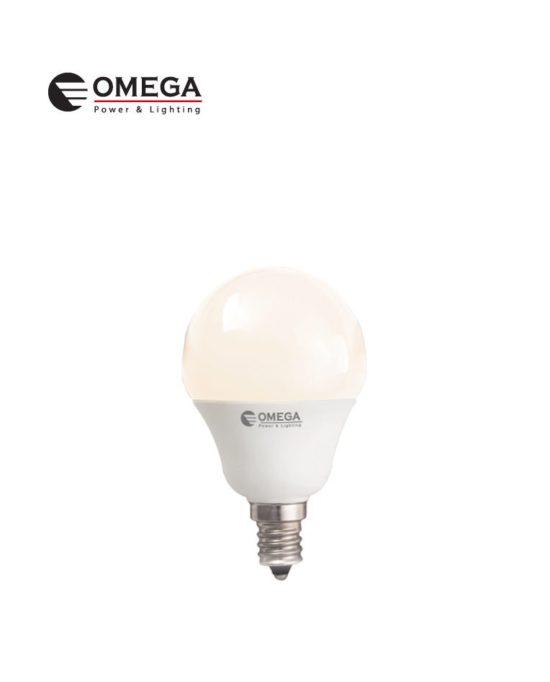 לד כדור 8W G45 אור חם OMEGA E14