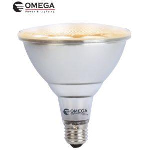 לד 15W PAR38 אור חם OMEGA 230V IP65