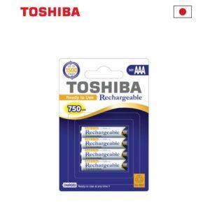 רבעיית סוללות נטענות AAA, תוצרת יפן - מחיר לאריזה