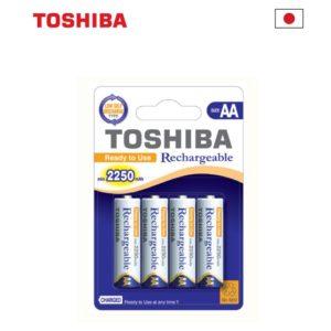 רבעיית סוללות נטענות AA, תוצרת יפן - מחיר לאריזה