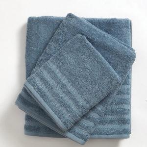 מגבת רחצה 100% כותנה 450 גרם למ״ר במגוון צבעים ענק 90x140 פטרול חלק