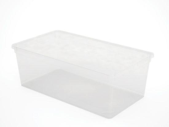 קופסה סטייל 6 ליטר- שקוף(XS)