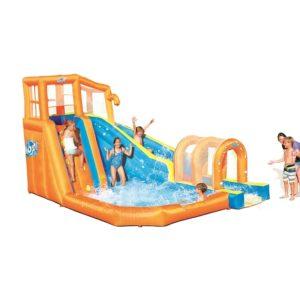 פארק מים מגלשת טורבו הוריקן +תותח מים 53303