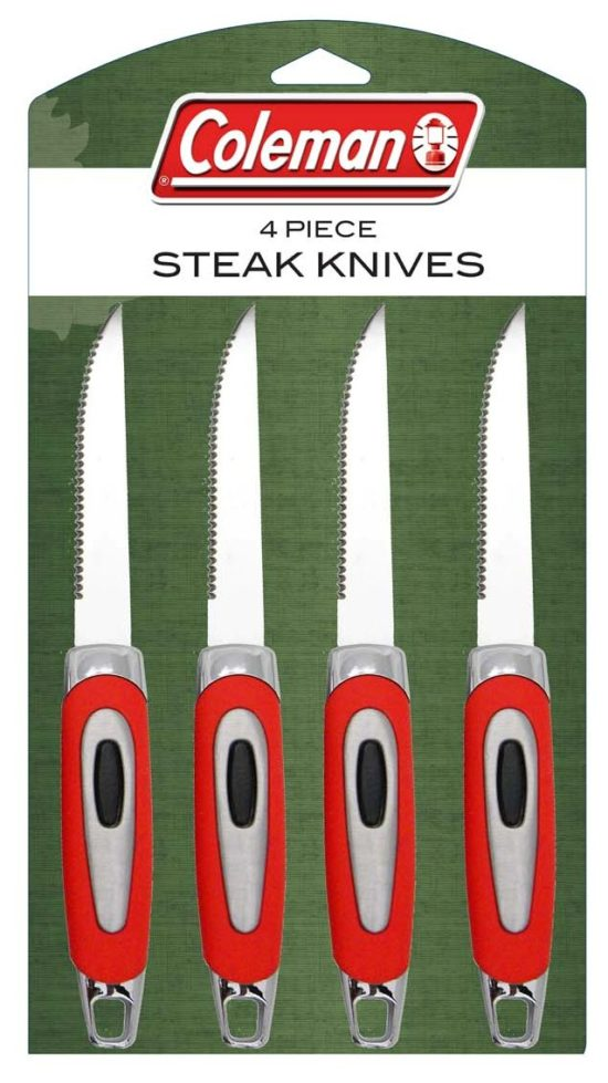 סט 4 סכיני סטייק של Coleman