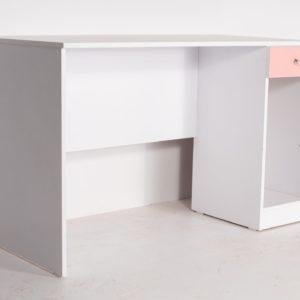 שולחן כתיבה 100/50/75 מגירה + כונן במגוון צבעים