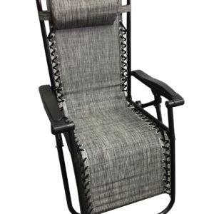 כיסא חמישה מצבים בצבע אפור