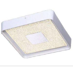 מנורת צמוד תקרה הודיה ריבוע קטן LED 24W