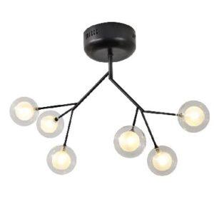 גוף תאורה וינטג' מולקולה שישיה LED 12W