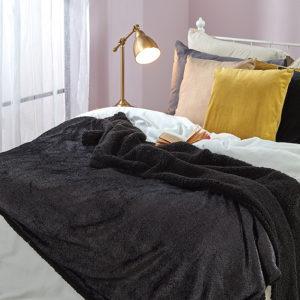שמיכה זוגית 200/220 בלאקי במגוון צבעים
