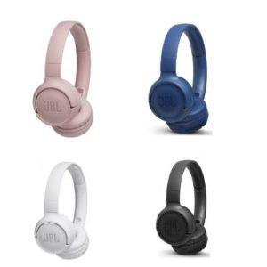 אוזניות אלחוטיות JBL TUNE 500BT - במגוון צבעים
