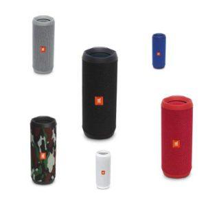 רמקול נייד JBL FLIP 4 במגוון צבעים