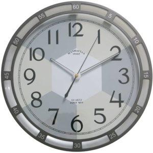 176-PW שעון קיר מאיר בחושך