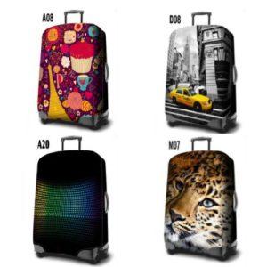 כיסוי מזוודה  L  מידה  LUGGAGE COVER במגוון דוגמאות