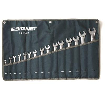סט 15 מפתחות רינג פתוח 030742 Signet
