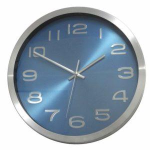 שעון קיר אלומיניום עם לוח מיוחד