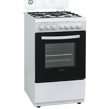 תנור משולב כיריים LCV50w Lacasa ב-3 צבעים