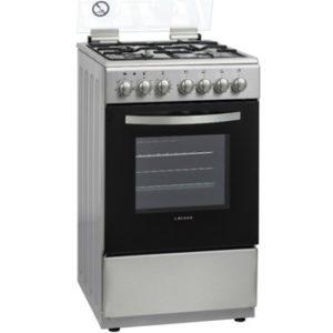 תנור משולב כיריים Lacasa LCV50 נירוסטה